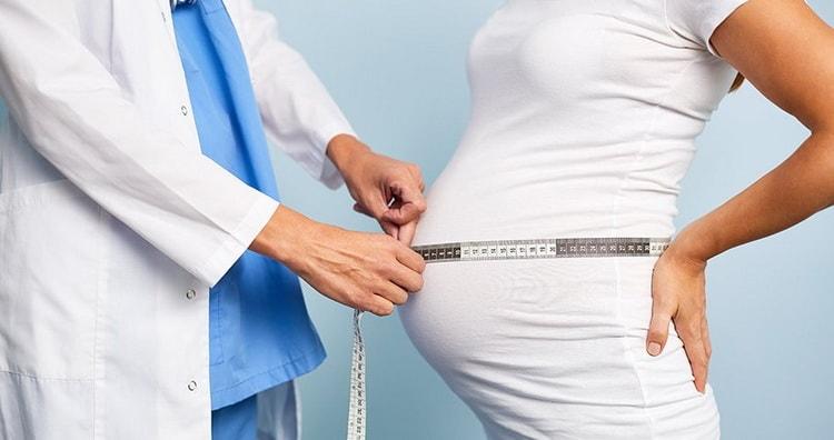 Как правильно сделать размеры живота беременной