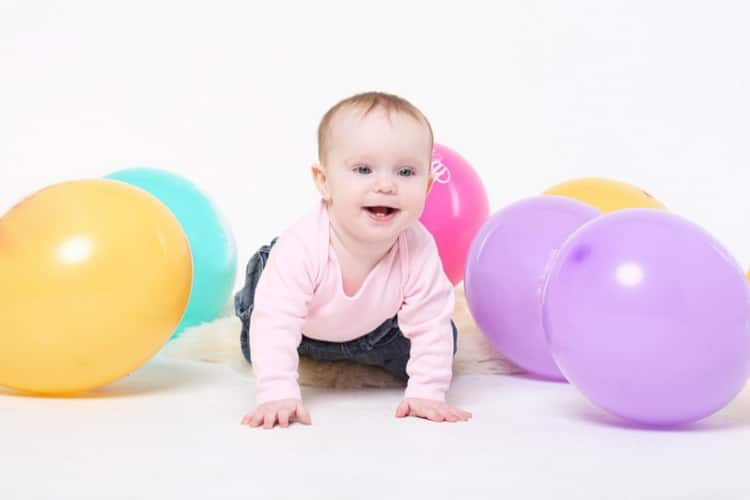 Вес и рост ребенка в 9 месяцев