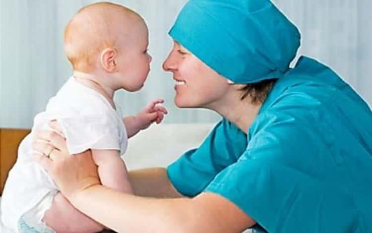 Как вылечить родимое пятно у грудничка