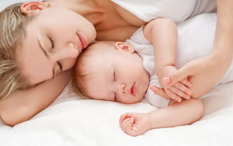 Все о том как уложить новорожденного спать