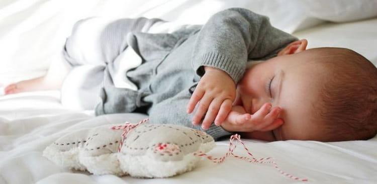 узнайте сколько ребенок должен спать в 6 месяцев
