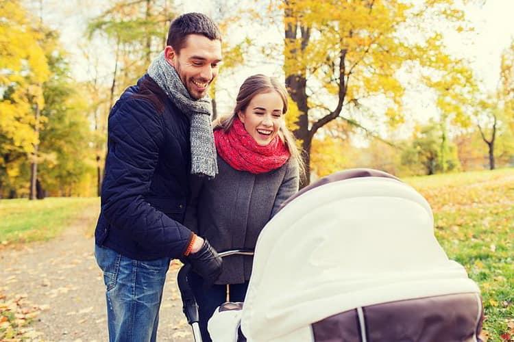 Как организовать прогулки для новорожденных