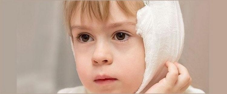 как можно лечить отит уха у ребенка в домашних условиях