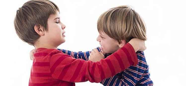 В этом возрасте дети нередко дерутся, но делают они это отнюдь не на зло родителям.