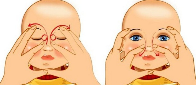 Посмотрите также видео о том, как делать массаж слезного канала у новорожденных.