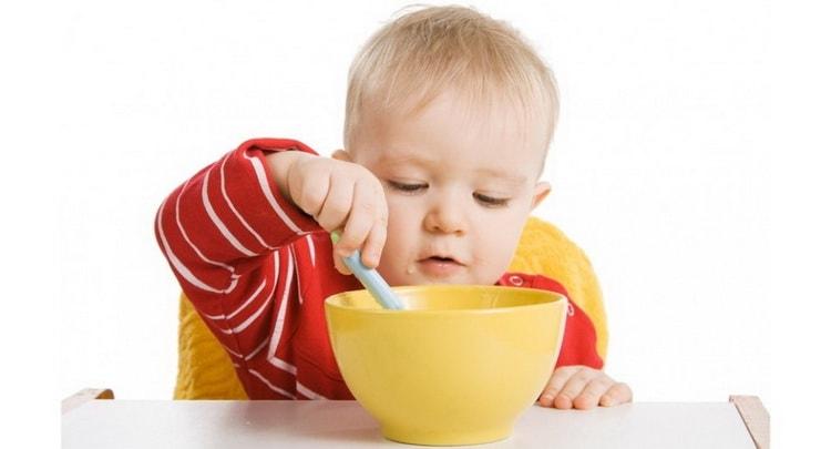 Каким должен быть рацион питания ребенка в 1 год