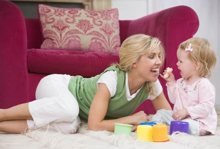 Некоторые детки успешно развиваются и в собственном режиме.