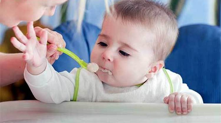 В рационе малыша обязательно должны присутствовать каши.