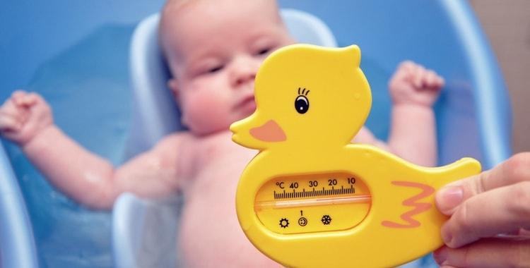 Температура воды для купания новорожденного ребенка