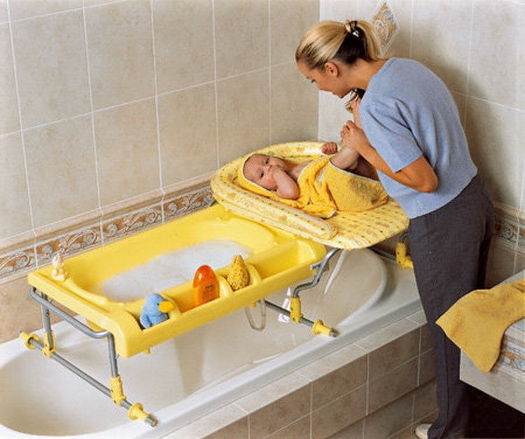 детская ванночка для новорожденных