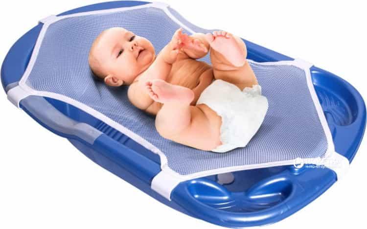Как выглядит детские ванночки для купания новорожденных