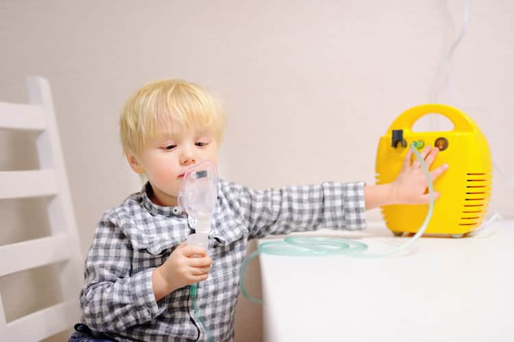 Как делать ингаляции при лающем кашле у детей