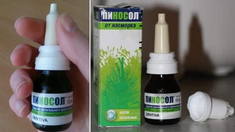 Пиносол: средство от насморка для детей