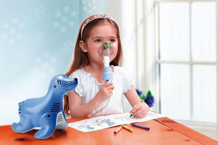 ингаляции при насморке для детей