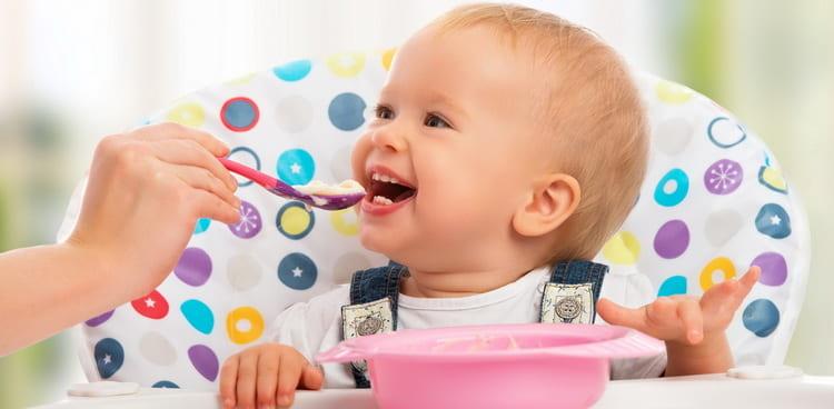 Правила составления меню ребенка в 1 год