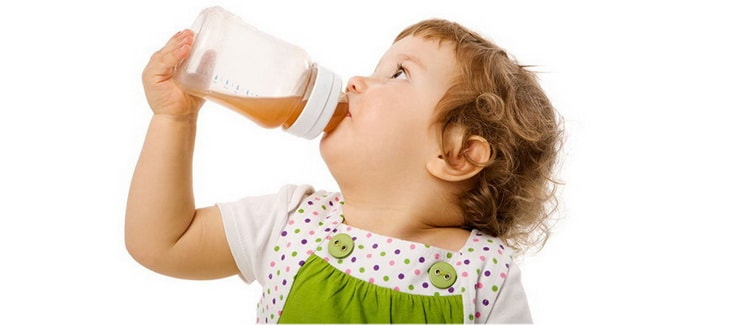 Напитки для малыша в 1 год