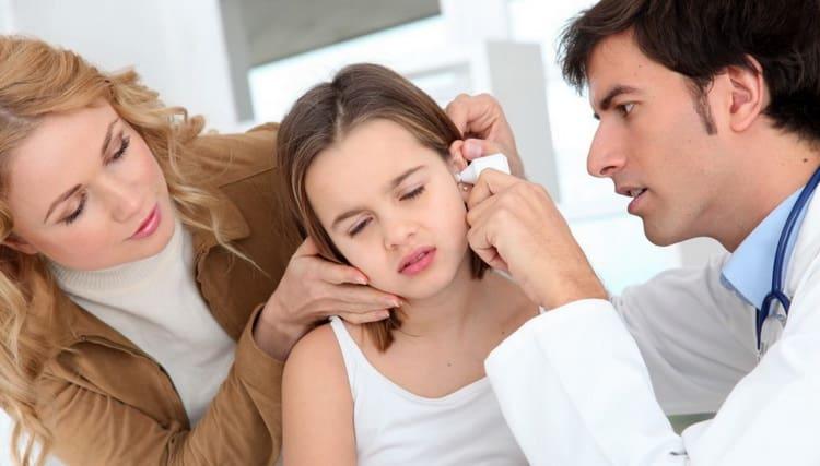 Какичем лечить отит ухау ребенка