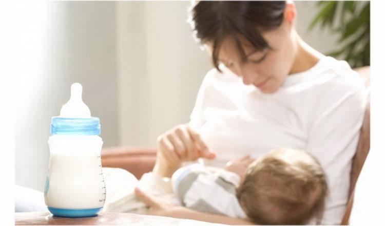что такое смешанное вскармливание новорожденных и как правильно кормить малыша по графику