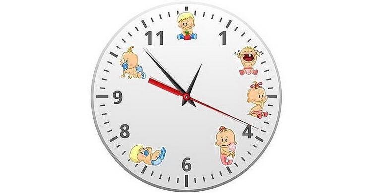 Нужен ли режим дня по часам в 8 месяцев
