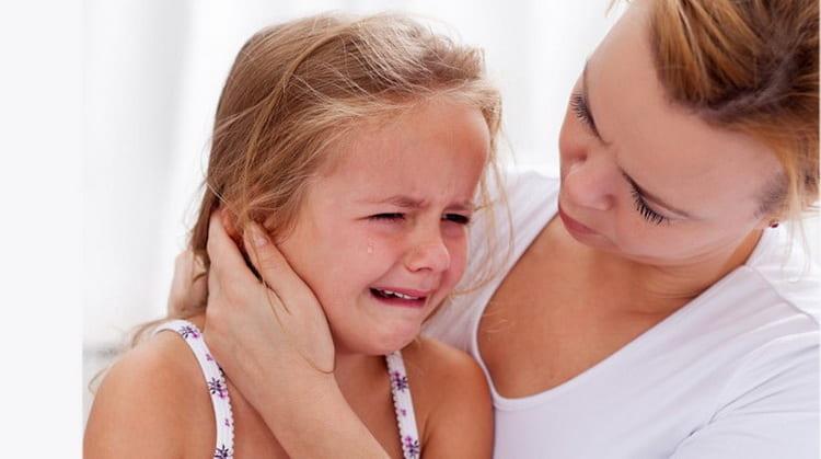симптомы катарального отита у детей