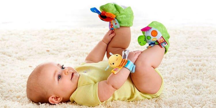 малыш в собственном режиме