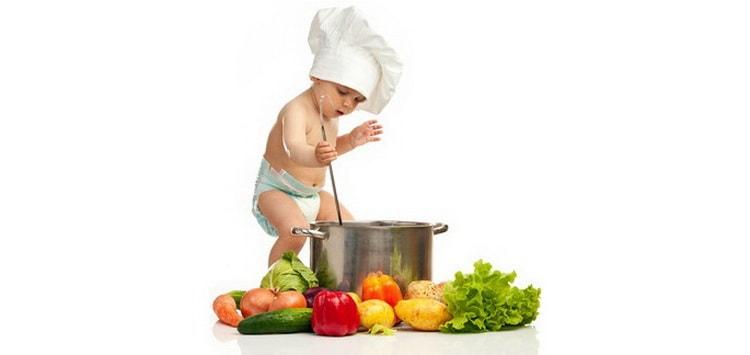 вкусные и полезные рецепты для детей от 1 года