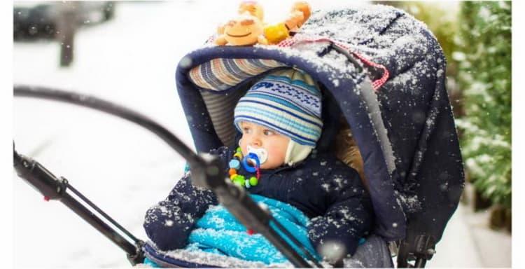как правильно одевать новорожденного зимой на прогулку