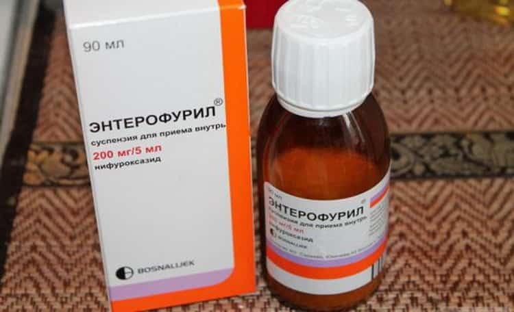В чем принцип действия энтерофурила- сиропа для детей