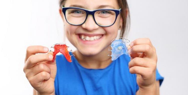 Пластины для зубов для детей