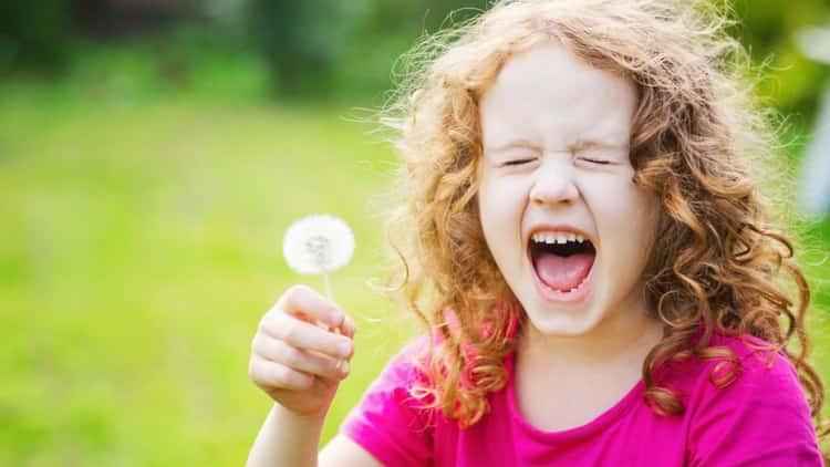 признаки аллергии на цветение у ребенка