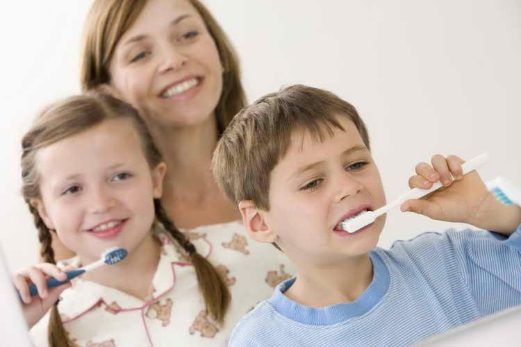 уход полсе удаления молочного зуба
