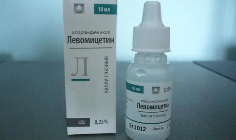 Согласно инструкции, капли для глаз Левомицетин для детей можно применять в самом раннем возрасте.