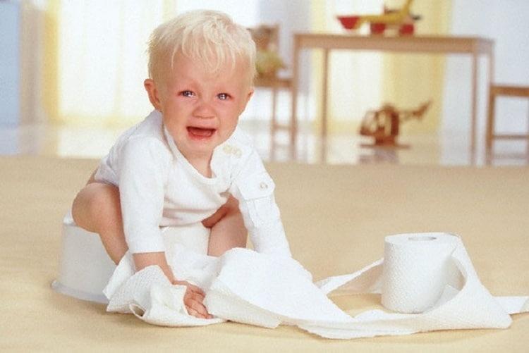 Возможен также понос у ребенка из-за этого препарата.