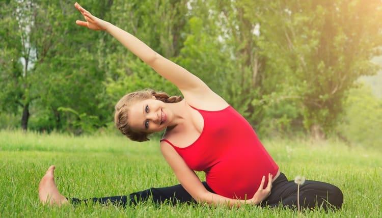 Просто идеально было бы, если б вы могли делать упражнения на свежем воздухе.