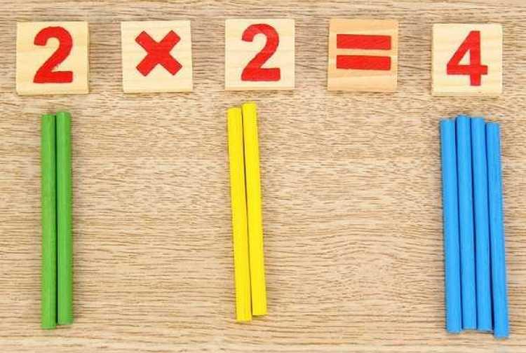таблица умножения для детей будет более интересной, если заниматься в игровой форме.