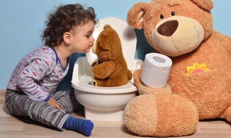 Использование игрушек это тоже хороший способ, как отучить ребенка спать в памперсе.