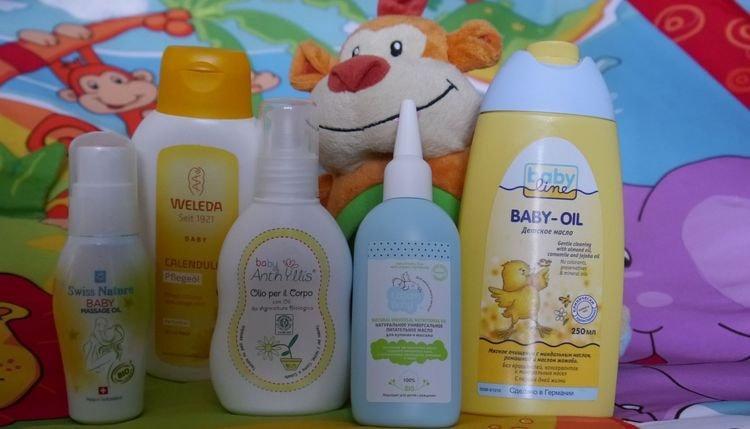 Чтобы себорейная корочка на голове у грудничков больше не появлялась, можно для профилактики использовать детское масло.
