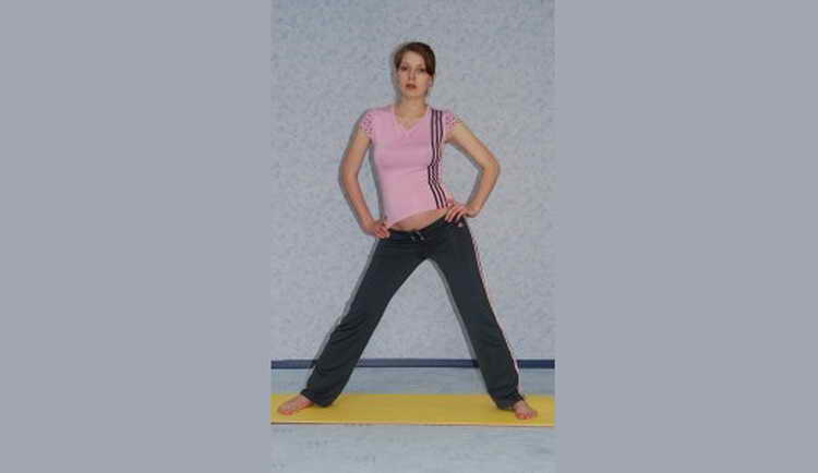 гимнастика для беременных 2 триместр бедра