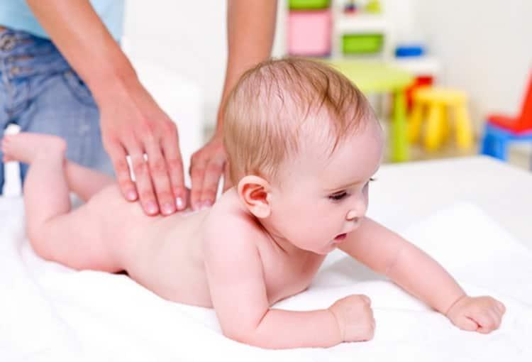расслабляющий массаж для грудничков при гипертонусе