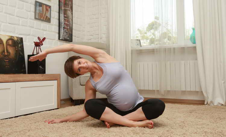 йога во время беременности