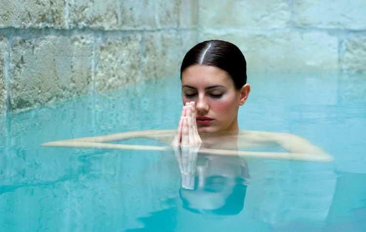 Аква-йога для беременных 2 семестр