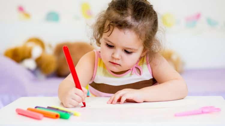 Как легко научить ребенка писать