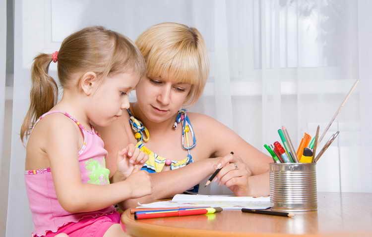 как учить ребенка рисовать