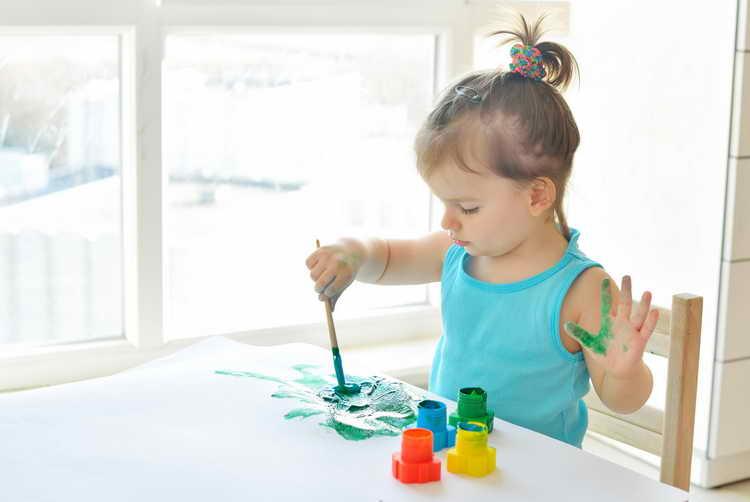 как научить ребенка рисовать в 3 года