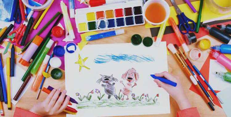 Как легко научить ребенка рисовать