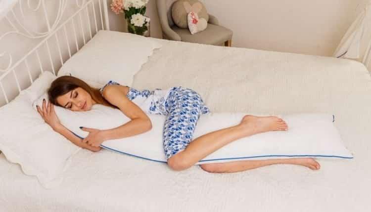 подушка банан для беременных