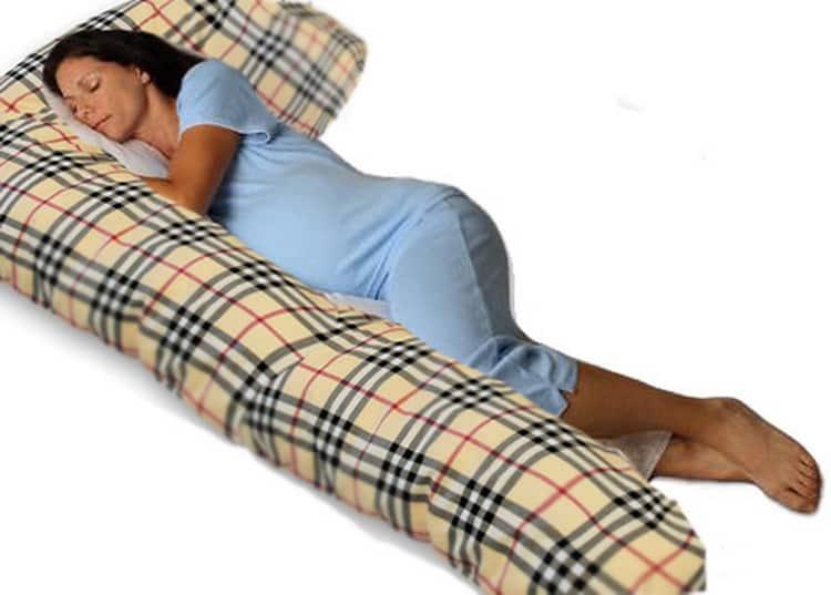 Подушка для беременных u образная