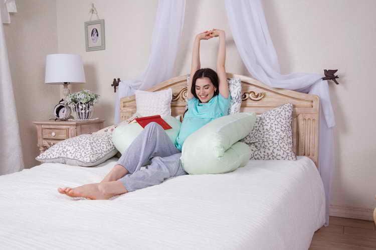 советы по изготовлению подушки для беременных своими руками