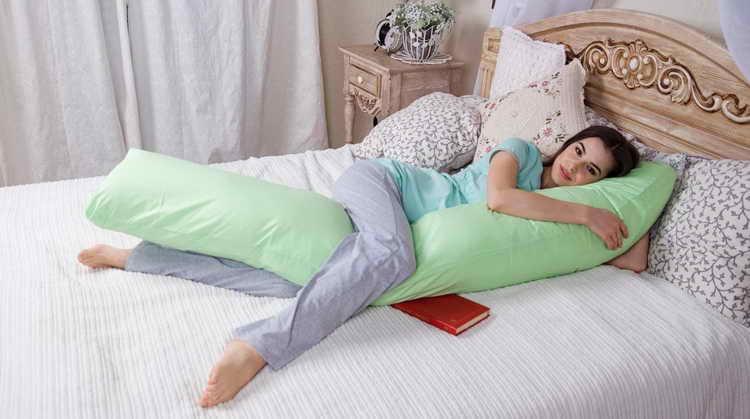 I-образная подушка для беременных своими руками