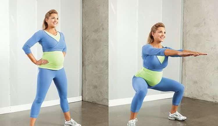 упражнения кегеля для беременных 2 триместр